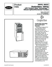 Carrier 58UHV 5PD Gas Furnace Owners Manual page 1