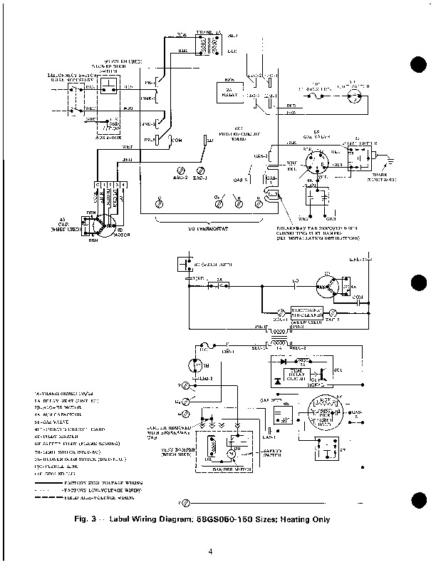 Old Carrier Gas Furnace Wiring Diagram