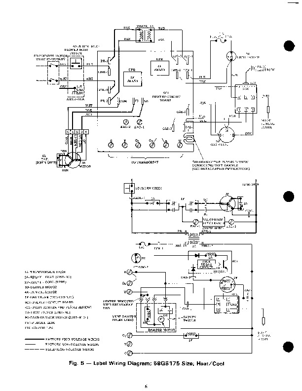 Carrier 58GS 2SI Gas Furnace Owners Manual 6 wiring diagrams for carrier 58ssc wiring discover your wiring Millivolt Gas Valve Troubleshooting at bayanpartner.co