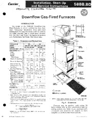 Carrier 58BB 58BD 3SI Gas Furnace Owners Manual page 1