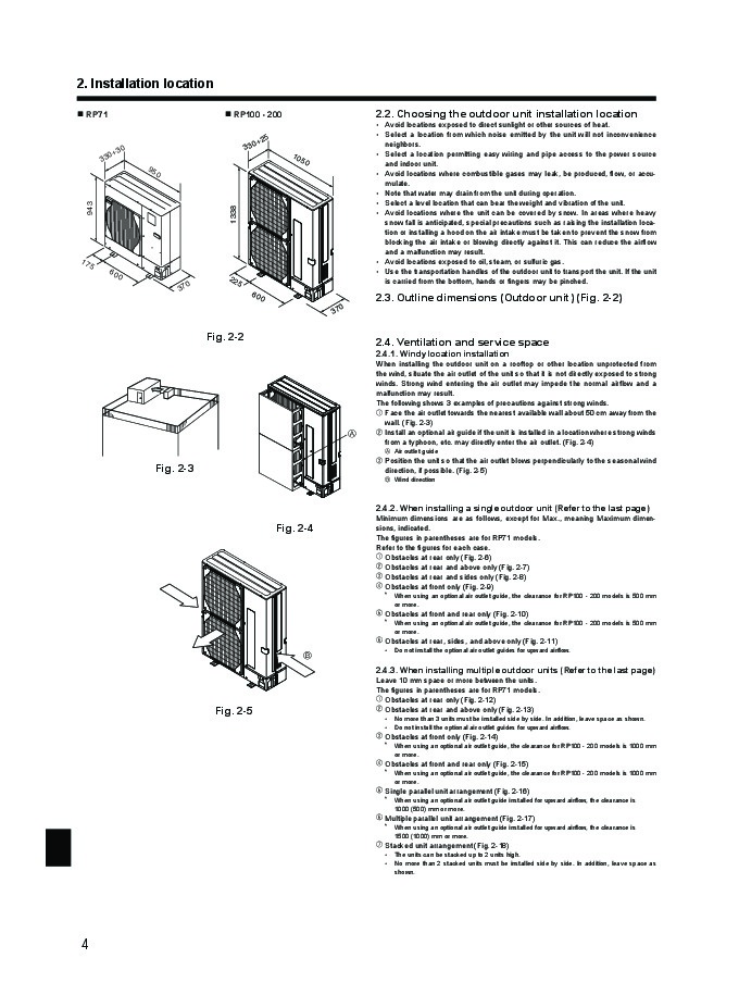 mitsubishi mr slim puhz rp ha4 puhz rp ka air conditioner installation manual