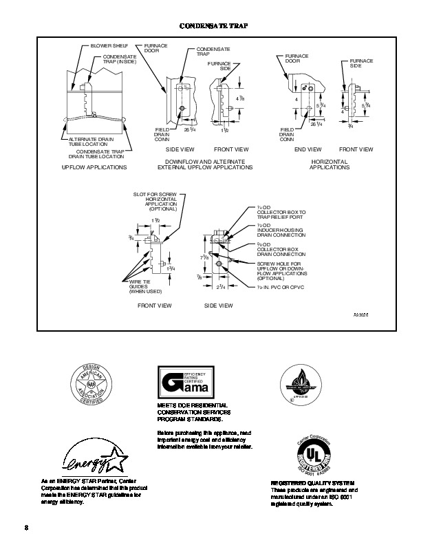 Carrier 58msa 4pd Gas Furnace Owners Manual