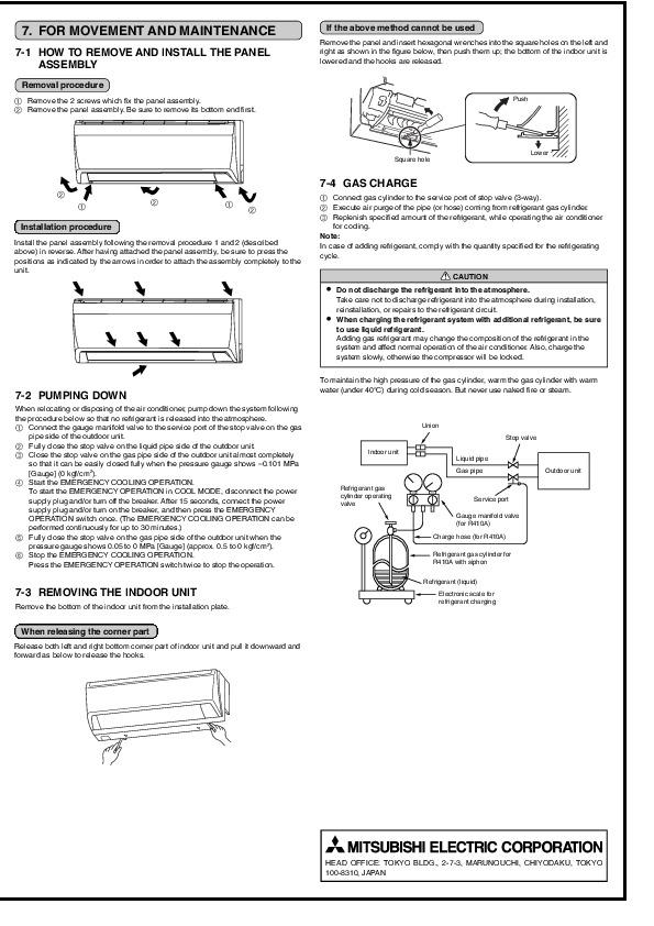 mitsubishi msz gb35va muz gb35va wall air conditioner installation rh filemanual com manual install windows 10 update manually install war file tomcat