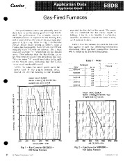 Carrier 58DS 1XA Gas Furnace Owners Manual page 1