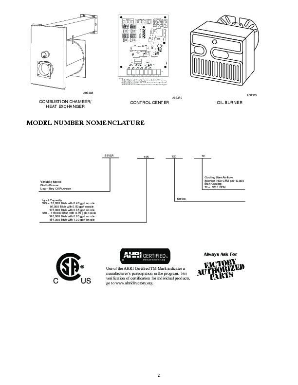 Carrier 58vlr 5pd gas furnace owners manual carrier owners manual 2 of 14 publicscrutiny Gallery