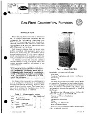Carrier 58DP 58DR 1SI Gas Furnace Owners Manual page 1
