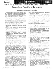 Carrier 58DS 1SO Gas Furnace Owners Manual page 1