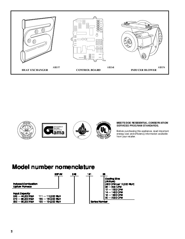 carrier 58pav 6pd gas furnace owners manual rh filemanual com carrier furnace 58pav090-14 manual Furnace 58 Model Carrier Series 211