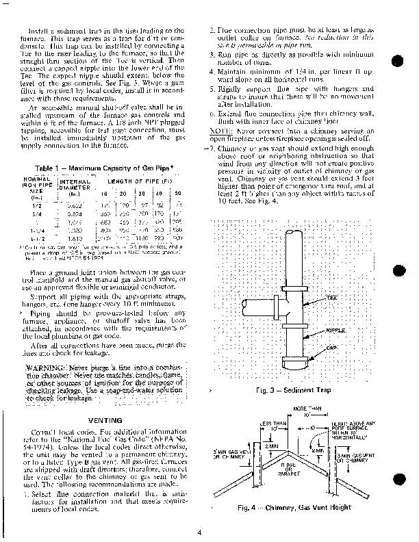 Carrier 58 Series 7xa Gas Furnace Owners Manual