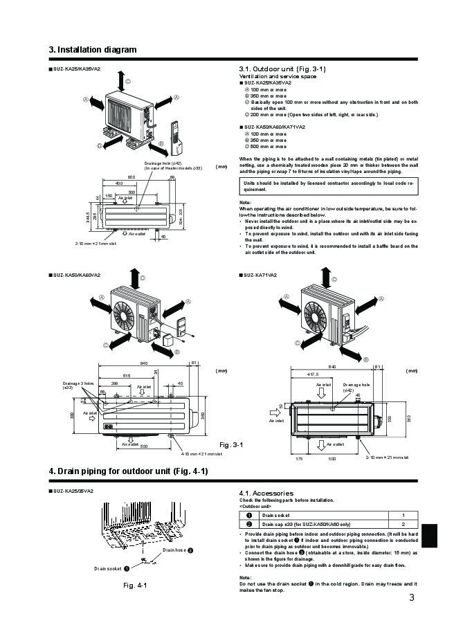 mitsubishi electric owners manual - 3 of 8