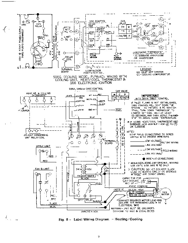 Ga Furnace Schematic Wiring Diagram