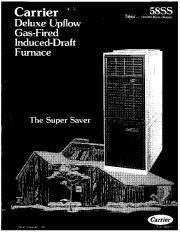 Carrier 58SS 1P Gas Furnace Owners Manual page 1