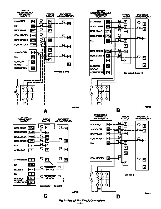 carrier bryant 598a 36 6 heat air conditioner manual