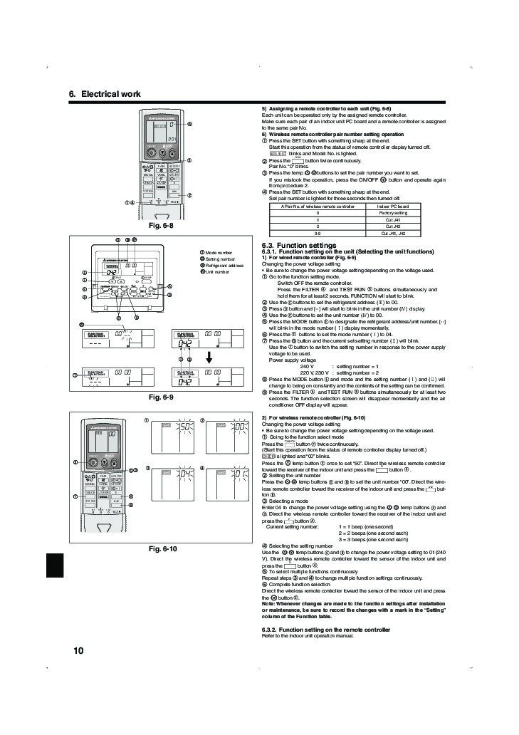 mitsubishi mr slim pla rp ba im rg79d251k01 ceiling cassette air conditioner installation manual