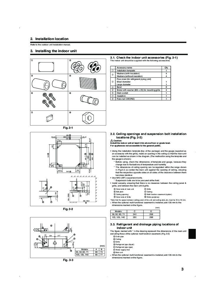 mitsubishi mr slim pla rp ba im rg79d251k01 ceiling cassette air conditioner installation manual. Black Bedroom Furniture Sets. Home Design Ideas