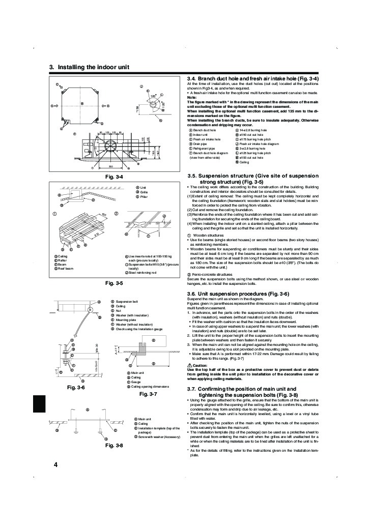 akai air conditioner installation manual