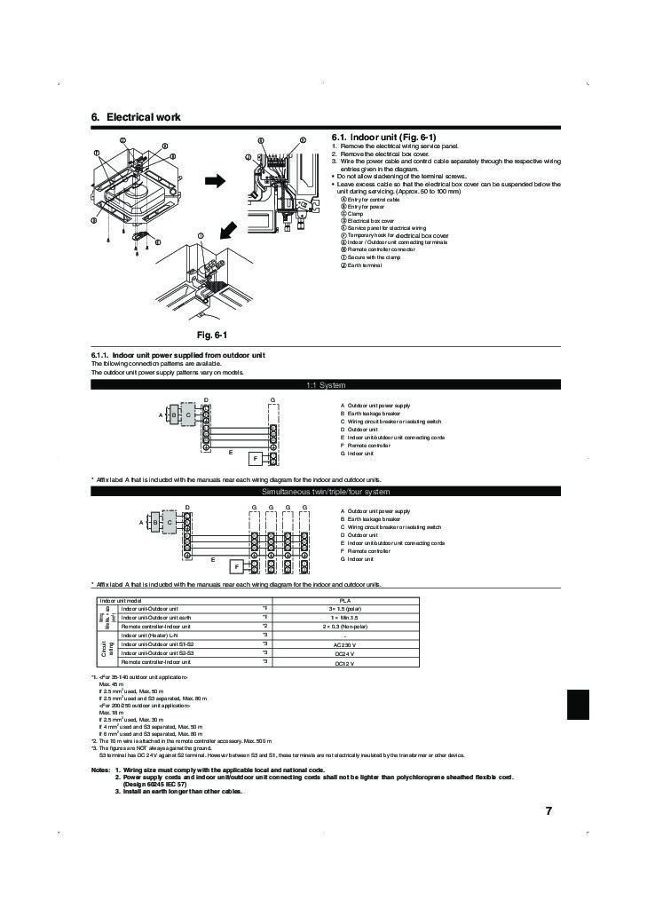 mitsubishi mr slim pla rp ba im rg79d251k01 ceiling cassette air rh filemanual com Mr. Slim Air Conditioner Manual Mr. Slim Technical Manual