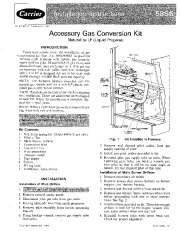 Carrier 58SS 7SI Gas Furnace Owners Manual page 1