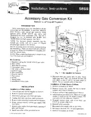 Carrier 58SS 3SI Gas Furnace Owners Manual page 1