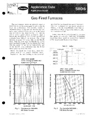 Carrier 58DS 2XA Gas Furnace Owners Manual page 1