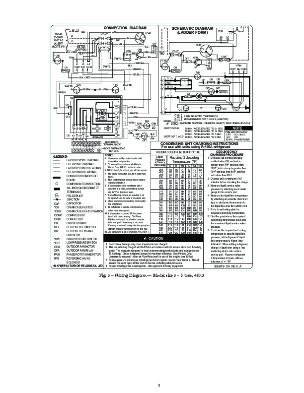 Carrier 25hbb3 1w Heat Air Conditioner Manual. Carrier Owners Manual 3 Of 4. Wiring. Carrier Heat Pump Ladder Wiring Diagram At Scoala.co