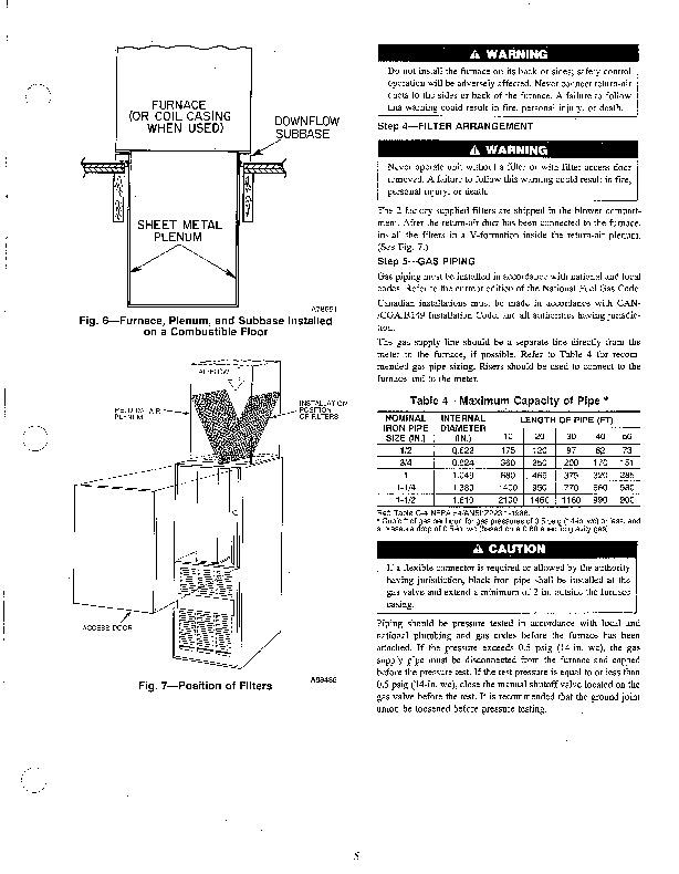 Carrier Furnace Instruction Manual
