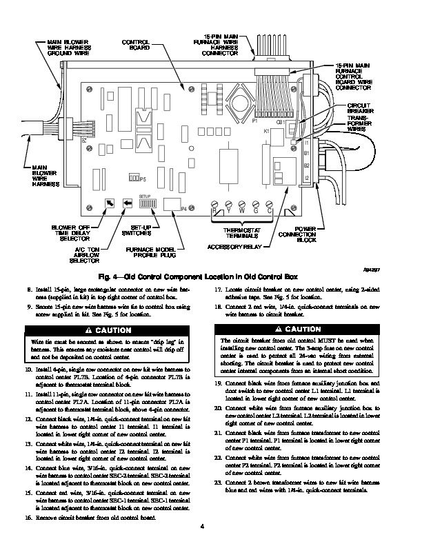 sf 30 furnace repair manual  set thermostat to warm temperature and furnace  blower should come on after 15-30  vdc- 20/25/30/35/42 sf-20f/25f/30f/35f/42f