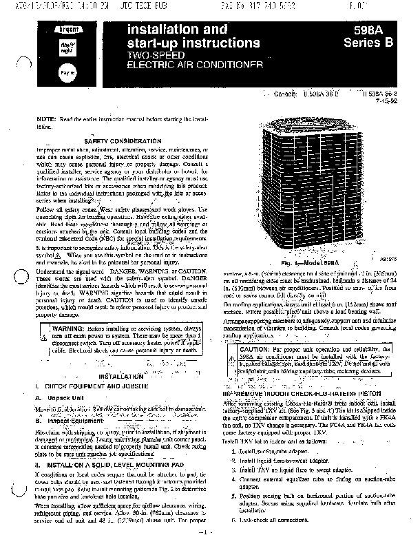 Bryant Ac Repair manual